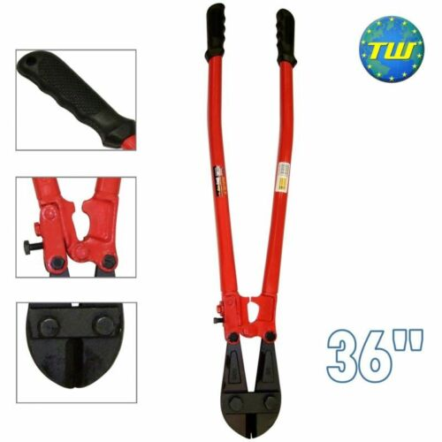 "36/"" Heavy Duty Carbon Steel Metal Chain Wire Cable Bolt Lock Cutter Cropper"