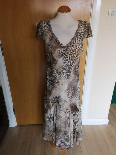 14 Per Party Wedding Print Size Una Ladies Long Leopard Dress Brown Evening dIPRxOHxqw
