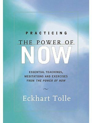 1 of 1 - NEW Practicing the Power of Now by Eckhart Tolle Paperback Book Free Ship Aussie