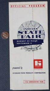 Details about 1963 Indiana State Fair Map & Program-Beverly Hillbillies  Appearances-VINTAGE!*