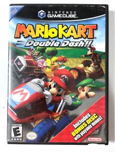 Mario Kart: Double Dash! NINTENDO GAMECUBE GAME w/ Bonus Disc! TESTED!