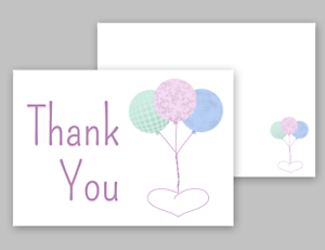 Thank You Cards Postcards Notes /& Envelopes A6 Pack Thank you Cards Notes Retro