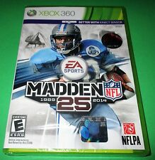 Madden NFL 25 Microsoft Xbox 360 *Factory Sealed! *Free Shipping!