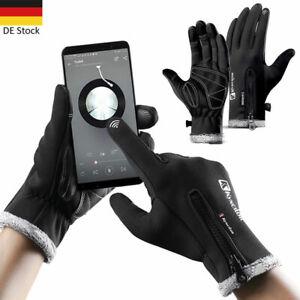 1-Paar-Windproof-Handschuhe-Winter-Warm-Wasserdicht-Motorrad-Fahrrad-Touchscreen