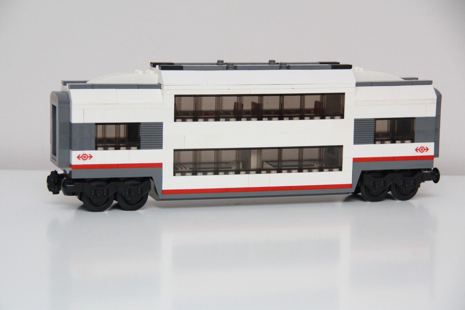 LEGO City Custom Made Passenger Club Car Restaurant Restaurant Restaurant Sleeper Train Carriage 60051 3242f8