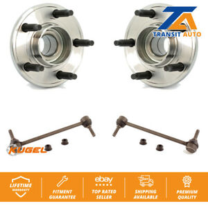 Front Hub Bearing Assembly And Link Kit For 1994-2004 Ford Mustang