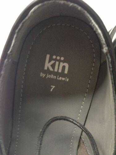 £ Hi Zapatos Tamaño 65 Shine John Rrp Derby 7 negros Lewis Kin nIFgvIq