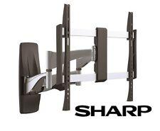 Premium Full Motion Sharp TV Wall Mount 37 40 42 50 51 55 60 65 70 Inch LCD LED