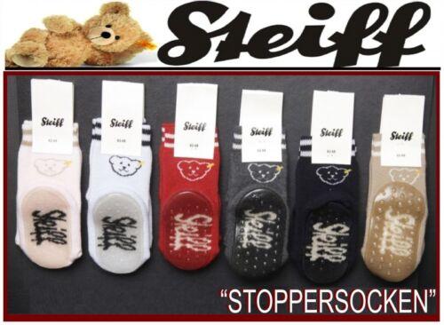 26157 Steiff topes-calcetines rutschesocken casa zapato calcetines Teddy oso