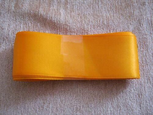 Ruban satin Gratuit P /& p * NEUF * 3mtr lngth /& 36 mm large Magnifiques couleurs