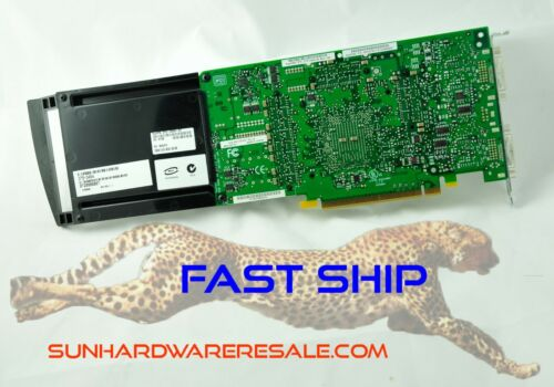 Sun Oracle 375-3454 XVR-2500 Graphics Accelerator X7295A Tested