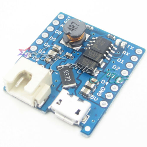 5PCS Battery Schild Für WeMos D1 mini single lithium battery charging /& boost