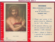 1573 SANTINO HOLY CARD ECCE HOMO MURILLO PIA SOCIETà S. PAOLO SERIE A N. 43