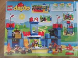 LEGO-Duplo-Set-Grosse-Ritterburg-10577-Ritterturnier-10568-Schatzraub-10569-Neu