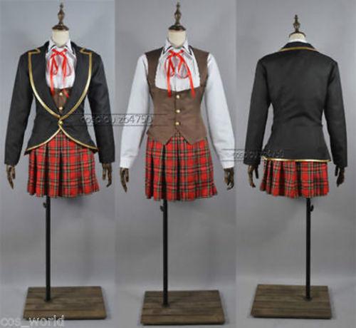 RWBY Ruby//Weiss//Blake//Yang School Uniforms COS NOUVEAU