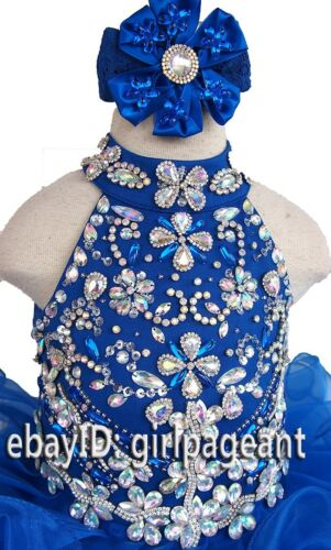 15 color Infant//toddler//baby Beading Dress available in size 1T,2T,3T,4T,5T,