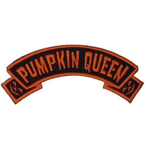 Kreepsville 666 Pumpkin Queen Arch Halloween Gothic Punk Horror Patch PAOPQ
