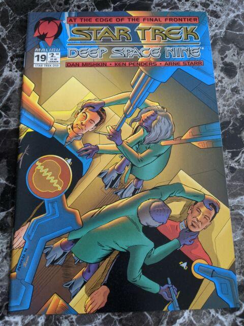Star Trek Deep Space Nine #19 February 1995 Malibu Comics DS9