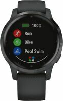 Artikelbild Garmin Vivoactive 4S Schwarz-Schiefergrau Fitness / Smartwatch NEU OVP