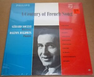 Details about Gerard Souzay/Dalton Baldwin A CENTURY OF FRENCH SONG Philips  PHS 900-132 SEALED