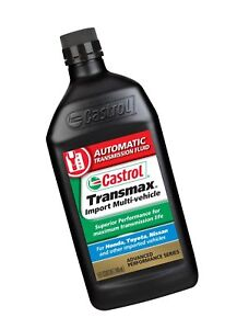 Details about Castrol 06814-6PK Transmax Import Multi-Vehicle ATF, 1 Quart,  Pack of 6