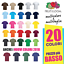 SET-5-PEZZI-MAGLIETTA-MANICHE-CORTE-UOMO-FRUIT-OF-THE-LOOM-VALUEWEIGHT-T-SHIRT miniatura 1