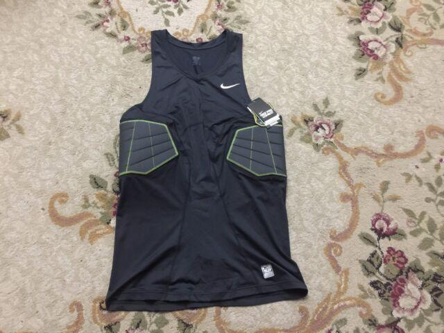 Nike Pro Combat Hyperstrong Elite Basketball Shirt Black Volt 629898-010 SZ 3XL