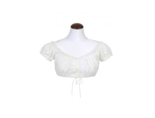 260470-0335 Dyckia-Di Bluse Kurzarm Dirndl Bluse in creme Spieth /& Wensky