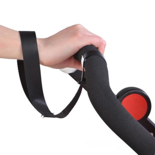 Safety Belt Wrist Strap Black for Travel Baby Kids Buggy Pram Stroller Buggy