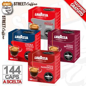 144 CIALDE CAPSULE CAFFE' NO 128 LAVAZZA A MODO MIO SCELTA ORIGINALI INTENSO