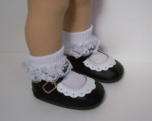 Debs DK YELLOW /& WHITE 2-Tone Classic Doll Shoes For Chatty Cathy