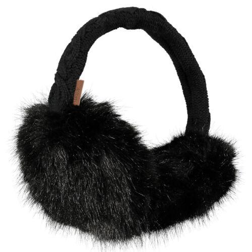 Barts Fur Earmuffs Black