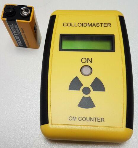 CM-Counter Colloimed Colloidmaster Geigerzähler 9V