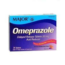 Major Omeprazole Dr 20mg Tablet 14ct