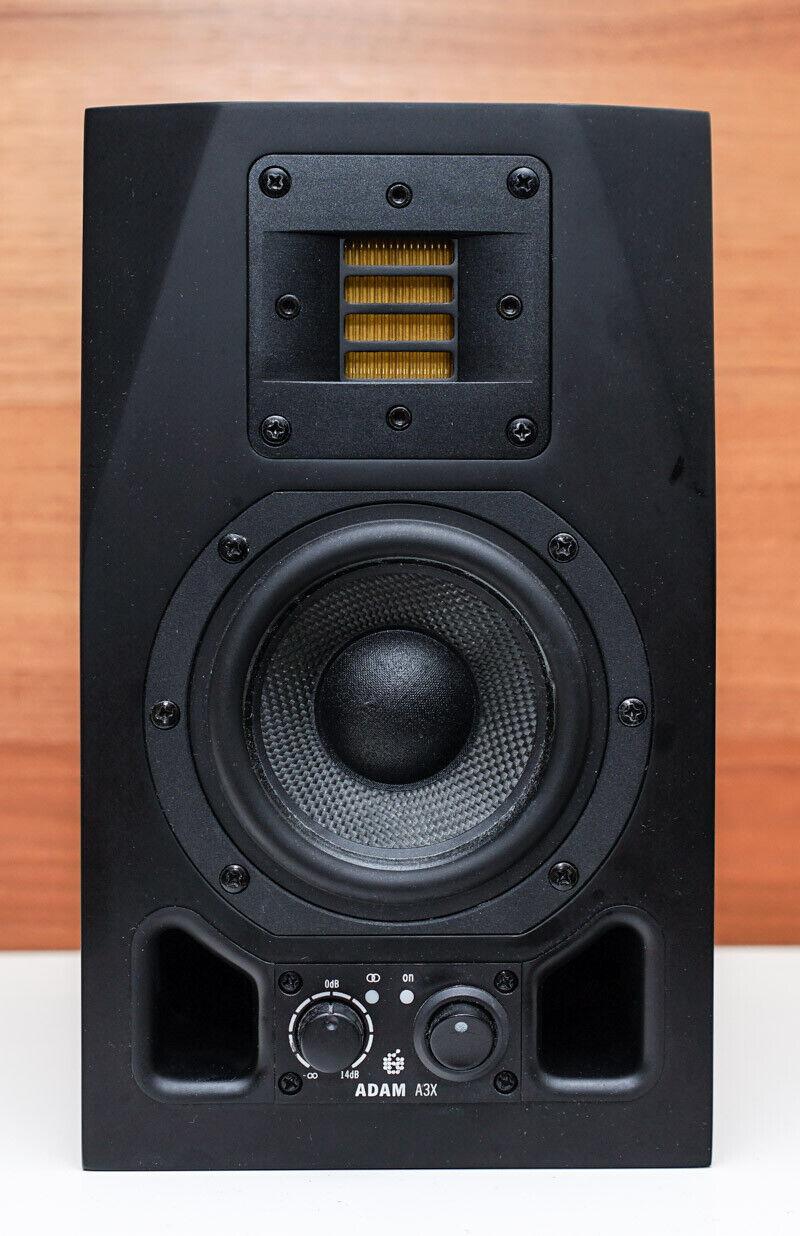 ADAM A3X Nearfield Powerot Monitor Speaker - Single Unit, Made in Germany