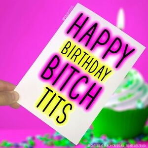 Happy-Birthday-Biglietti-di-auguri-CAGNA-T-TS-Novita-divertenti-MIGLIORE-AMICO