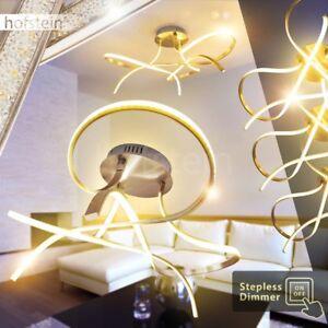 dimmbare led luxus decken leuchten flur b ro wohn schlaf raum zimmer beleuchtung ebay. Black Bedroom Furniture Sets. Home Design Ideas