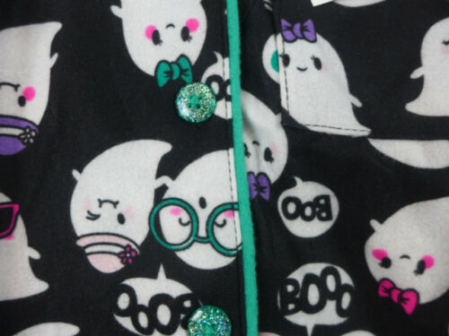 Girls Joe Boxer Pajamas Flannel Set  2T to Med 7//8 Ghost Monkey Hearts Owl Peace