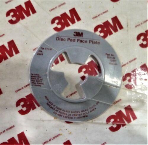 051144-13325 MEDIUM FOR 4 1//2 in Diameter Discs 3M DISC PAD FACE PLATE