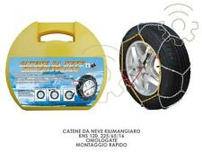 Snow chains Kilimangiaro KNS 120 225/70/16 homologated mounting fast