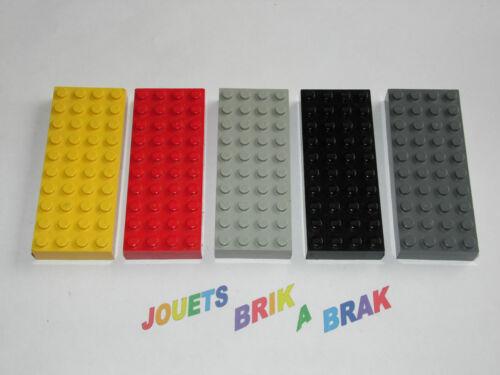 Lego 1 plaque plate Brick 4x10 x1 épaisse Choose color ref 6212