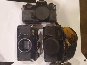 Vintage-decada-de-1980-Canon-EF-diapositiva-de-cuerpo-camara-de-cine-Lote-3