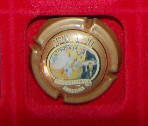 1 Plaque de muselet de champagne Abele nuits parisiennes sans inscription