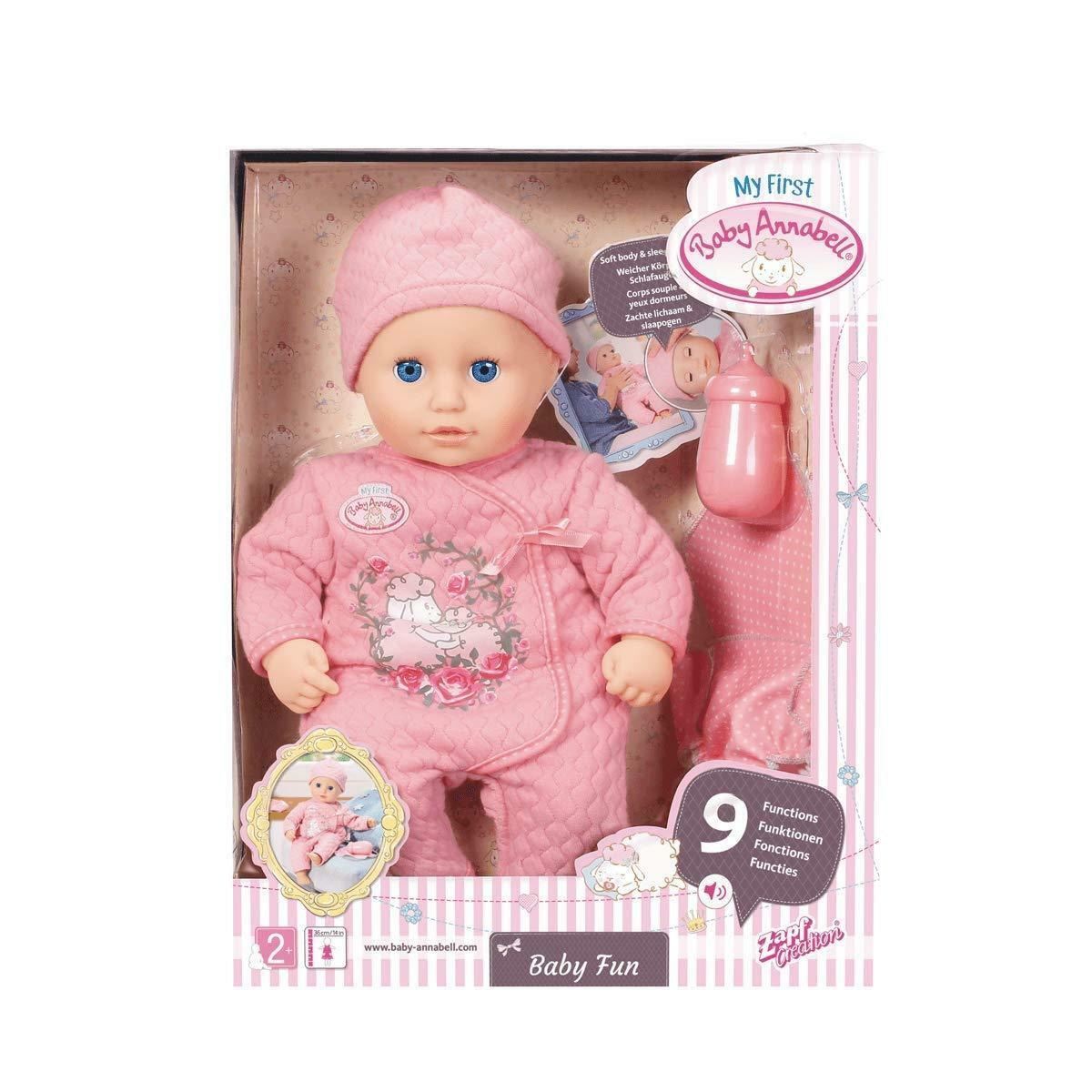 Baby Annabell 700594 My First Fun Nurturing Doll, 36cm