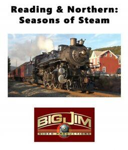 """Reading & Northern: Seasons of Steam"" - DVD - Big Jim Video Productions"