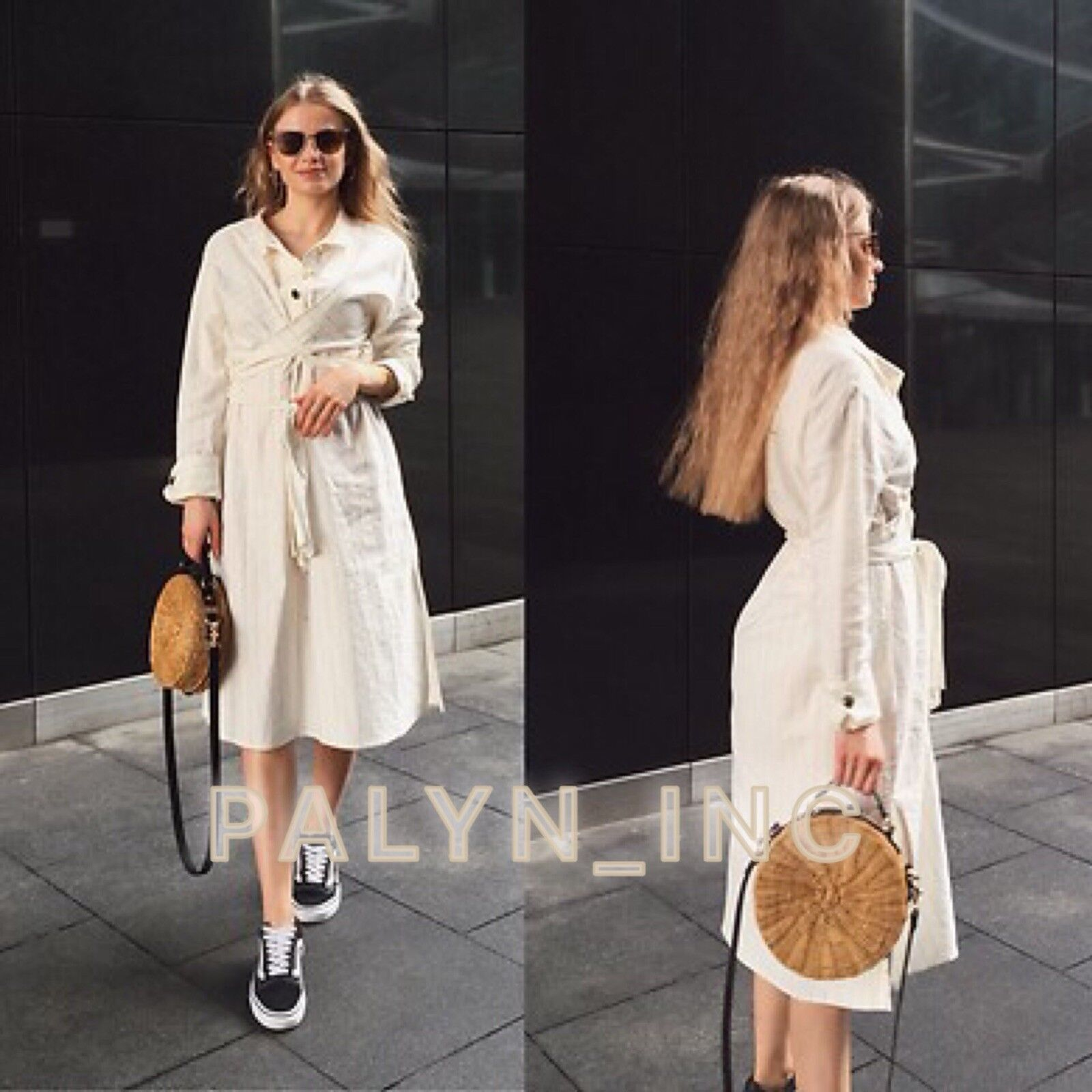 51aed15dd75 ZARA SS18 LINEN DRESS WITH CredVER DETAIL 2157 070_M XL NWT STRIPED ...