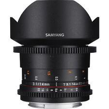 Samyang 14mm T3.1 VDSLR ED AS IF UMC II Lens in Canon Fit