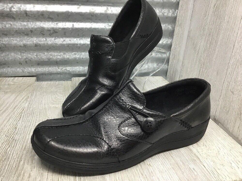 in vendita scontato del 70% Rockport Leather donna Dimensione 8 nero nero nero Loafer Comfort Slip-on Split  Moc Toe  incredibili sconti