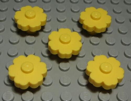 Lego Blume 2x2 Gelb 5 Stück 816 #