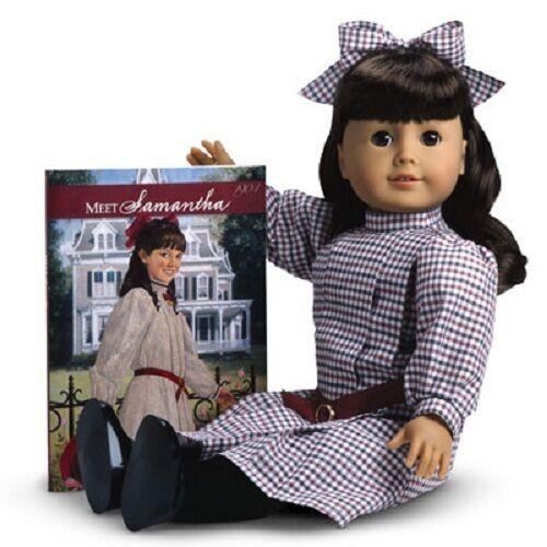 Muñeca American Girl Samantha + Libro N ° X immeddelivery